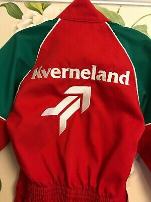 Kverneland tractor boiler suit overalls age 3-5 new without tags