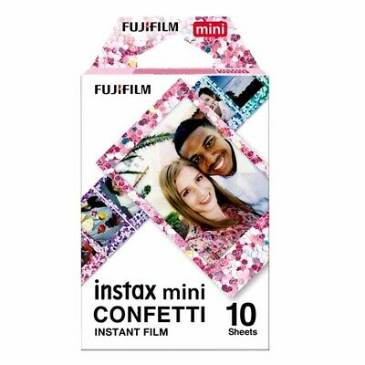 Fuji INSTAX mini CONFETTI Instant Film  **MULTI-BUY SAVINGS**