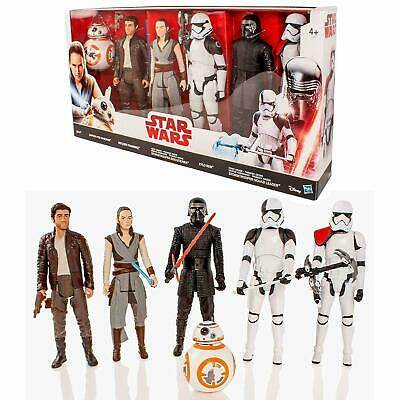 """Star Wars The Last Jedi Deluxe 12"""" Action Figure Box Set - 6 Pack"""