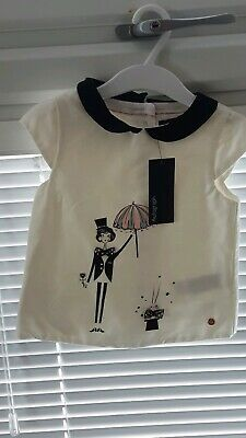 BNWT Girls Marks And Spencer Autograph Party Top (3-4 Years)