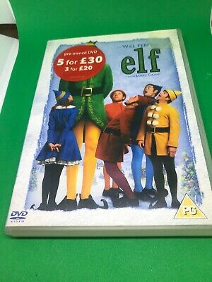 ELF Will Ferrell With James Canaan DVD Christmas