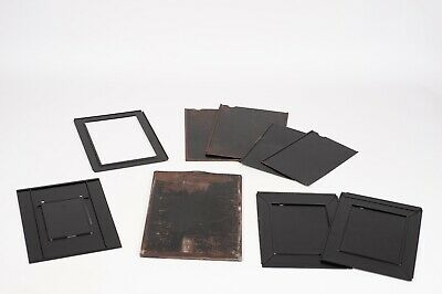 Plate-Holder and adapter lot for film