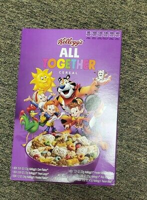 Kellogg/'s All Together Cereal Box Limited Edition LGBT Spirit Day IN HAND