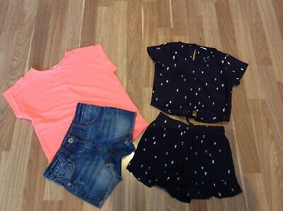 BNWOT River Island & Next Girls Small Bundle Of Clothes Ages 4 Years Must See !!