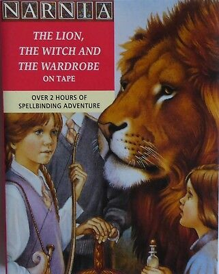 The Lion The Witch and the Wardrobe Audio Book 2 Cassettes EX Cond 1991 Collins