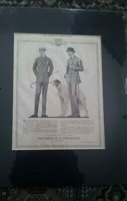 The Saturday Evening Post Magazine Ad, Borzoi/Russian Wolfhound - 1914