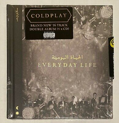 Coldplay - Everyday Life  Double Album CD * New & Sealed *