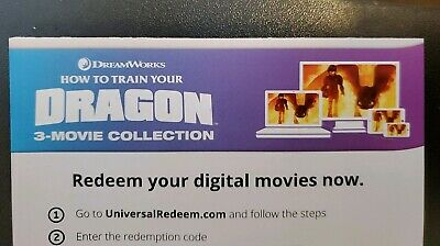 How To Train Your Dragon Trilogy Digital HD