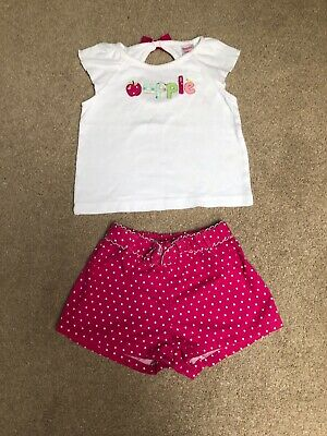 Gymboree Girls Outfit Size 12-18 Months 🍎🍏