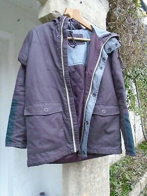 River island purple jacket  12 to 14 years Excellent condition coat /girl
