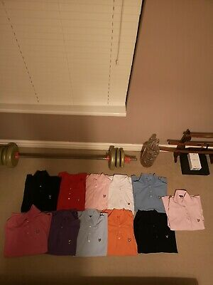 11 x Lyle And Scott Polo T-shirts