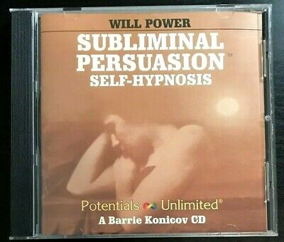 Will Power - Subliminal Persuasion - Self-Hypnosis - A Barrie Konicov Audio CD