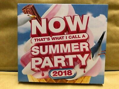Now That's What I Call A Summer Party 2018  3CD  NEW & Sealed WH1