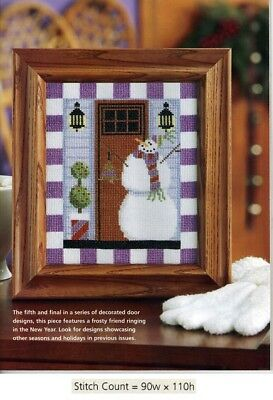 CROSS STITCH PATTERN ONLY  GU EEY SEASON/'S GREETINGS CARDS