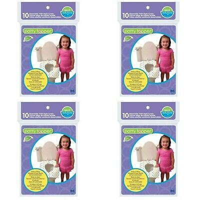 Children's Disposable Toilet Seat Covers Potty Toppers 4 - 10 Packs