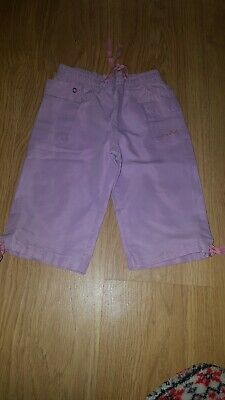 Girls Girl2Girl Lilac and pink Light/thin trousers.....age 3-4 years