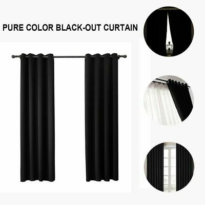 Living Room Finished Window Treatment Drapes Bedroom Blinds Blackout Curtains