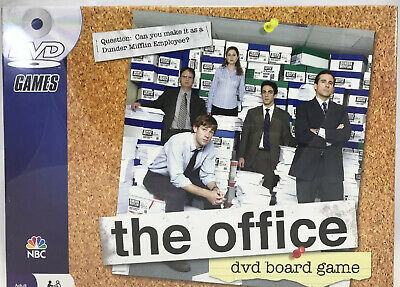 The Office DVD Board Party Family Game Pressman Trivia Factory Sealed NEW NIB