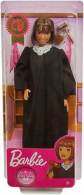 2019 Career of the Year JUDGE BARBIE DOLL Short Brown Hair - FXP44 SAME DAY SHIP