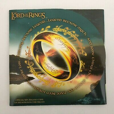 New Zealand  One Dollar 2003 Lord of the Rings 3 coin set (3321781C7)