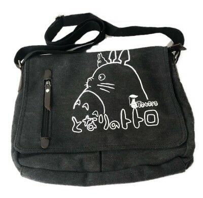 Anime My Neighbor Totoro Canvas Shoulder Messenger Bag