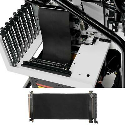 PCI Express High Speed 16x Flexible Cable Extension Port Adapter Riser Card #FW