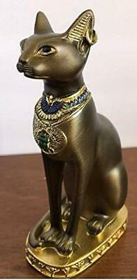 YOUNI - Ancient Egypt Kitty Egyptian Bastet Sculpture Cat Goddess Statue Coll...