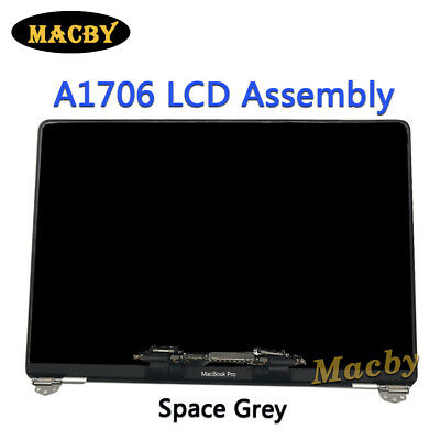 """New LCD Screen For MacBook Pro 13"""" A1706 A1708 LCD Assembly 2016-2017 Space Grey"""