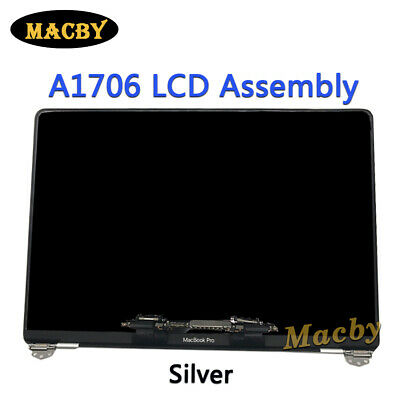 """New Silver Display For MacBook Pro Retina 13"""" A1706 A1708 LCD Assembly 2016-2017"""