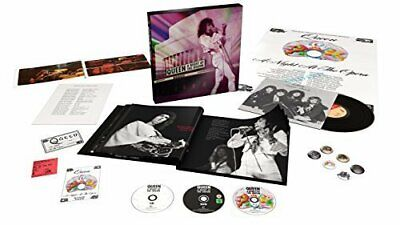 "Queen: A Night at the Odeon (CD/DVD/Blu Ray/12"" Vinyl) Box Set New & Sealed"