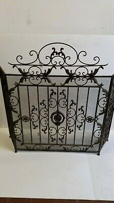 Beautiful Victorian Style Fire Screen Fireguard HALF PRICE TO CLEAR *Was £99.95*
