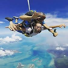 Skydive 15,000ft, Cairns,Hunter Valley,Byron Bay,Sydney NewCastle & More.