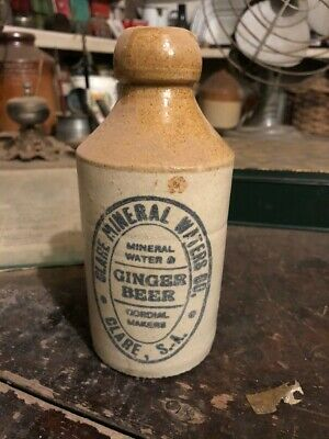 ginger beer bottles Clare Mineral Water Co Clare South Australia