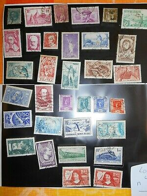 LOT TIMBRES FRANCE OBLITÉRÉS lot n° 4