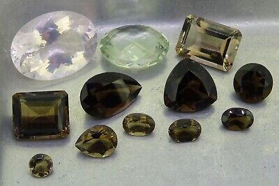 5PC Mixed Naturalssorted Natural Collectable Tumbled Stones Crystal-Healing-Gem