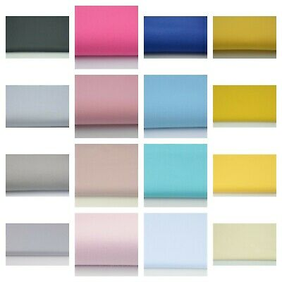 """100% Cotton Fabric Sheeting  64"""" By Metre Craft Quilting GREY WHITE YELLOW"""