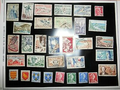 LOT TIMBRES FRANCE OBLITÉRÉS lot n° 10
