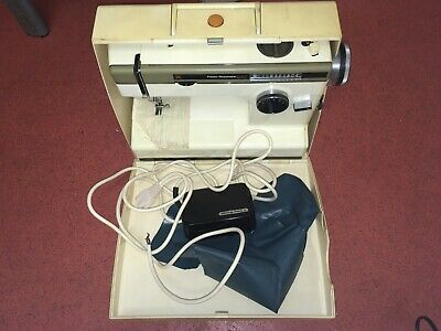 Frister Rossmann Cub 7 Sewing Machine With Case