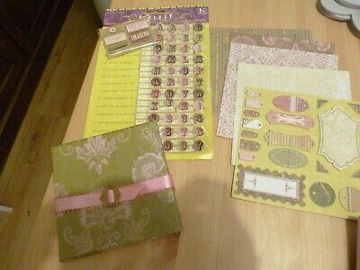 Complete craft room clear out -pk 57- Tim Holtz, Kim & Company & Colorbok