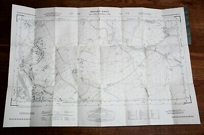 Ordnance Survey Map SE 1816-1916 Yorkshire 25 inch to 1 mile Cowmes Huddersfield