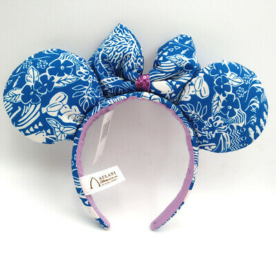 Aulani Hawaii Rare Minnie Ears Disney Parks Mickey Mouse Spako Olina Headband