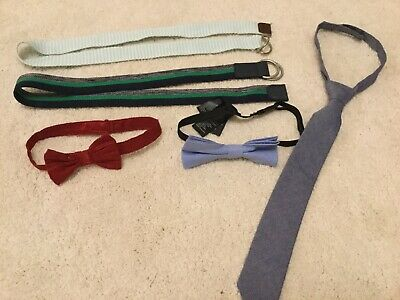 Boys accessories - Belts, Ties, Bow Tie - Age 2-4 Years