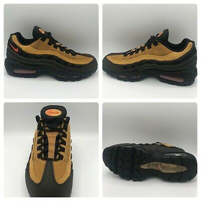 NIKE MEN'S AIR Max 95 Essential Cosmic Clay Black Running