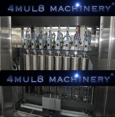 4mul8 Machinery® - 1000 Bottles / Hour Filler + Capper - Installed - Duty Free
