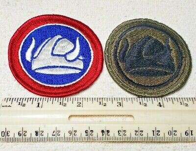 29th Infantry Division Army Black /& Gray Patch 81K2