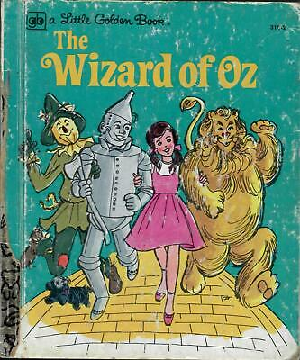 The Wizard Of Oz. Little Golden Book. Nice Condition. 1979.