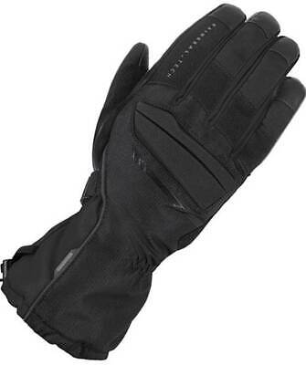 Thermo insulated waterproof cordura leather motorcycle gloves