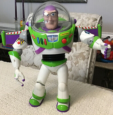 "Disney Pixar Toy Story BUZZ LIGHTYEAR 12"" Talking Action Figure - Popular Toy!!!"