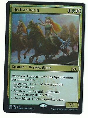 Herbstritterin The Gathering Gui Guilds of Ravnica MTG Magic Knight of Autumn
