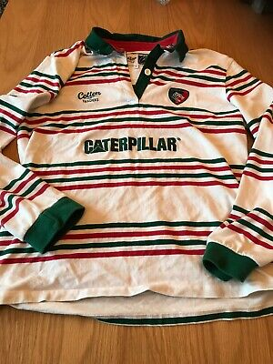 Leicester Tigers Cotton Traders ladies Long sleeve Rugby shirt, size 14/16